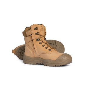 Mongrel Rubber Series Wheat High Ankle ZipSider Boot 561050