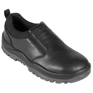 Mongrel Non Safety Series Black Slip-on Shoe 915025