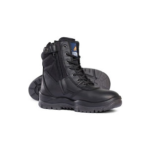 Mongrel Non Safety Series Black High Leg ZipSider Boot 951020