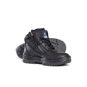 Mongrel Non Safety Series Black ZipSider Boot 961020