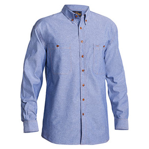 BISLEY  Chambray Shirt - Long Sleeve B76407