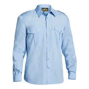 BISLEY  Epaulette Shirt - Long Sleeve B76526