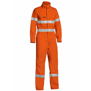 BISLEY  TenCate Tecasafe® Plus Taped Hi Vis Lightweight Coverall BC8178T