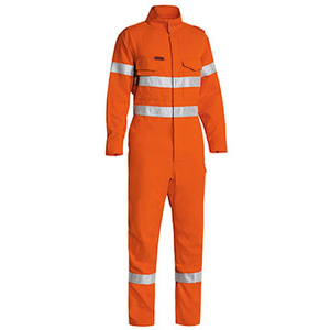 BISLEY  TenCate Tecasafe® Taped Hi Vis FR Lightweight Engineered Coverall BC8185T