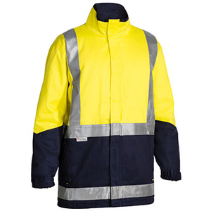 BISLEY  3M Taped Hi Vis 3 in 1 Drill Jacket BJ6970T