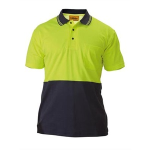 BISLEY  2 Tone Hi Vis Polo Shirt - Short Sleeve BK1234