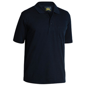 BISLEY  Mens Poly/Cotton Polo Shirt BK1290