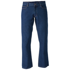 BISLEY  Industrial Straight Leg Mens Work Denim Jean BP6053