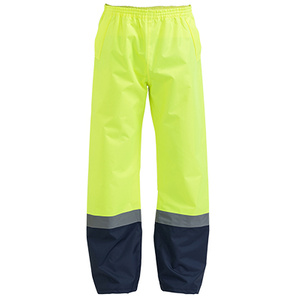 BISLEY  Taped two Tone Hi Vis Shell Rain Pant BP6965T