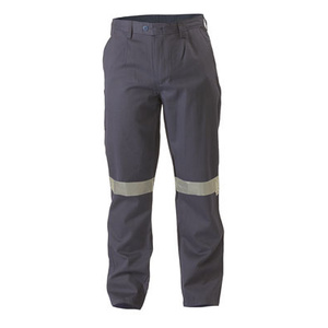 BISLEY  Flame Resistant Hi Vis Taped Drill Pant BP8000
