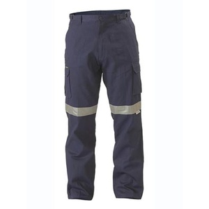 BISLEY  8 Pocket Cargo Pant 3M Reflective Tape BPC6007T