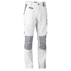 BISLEY Painter's Flat Front Contrast Cargo Pant BPC6422