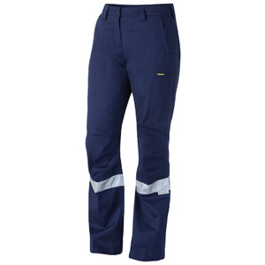 BISLEY  3M Taped Industrial Engineered Womens Drill Pant BPL6021T