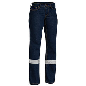 BISLEY Womens Taped Stretch Jeans BPL6712T