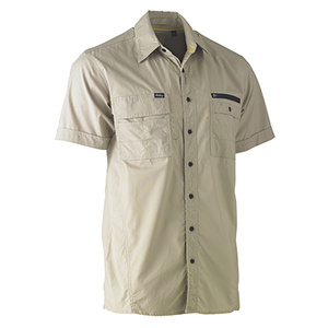 BISLEY Flex and Move™ Short Sleeve Utility Work Shirt BS1144