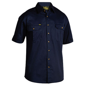 BISLEY  Original Cotton Drill Shirt - Short Sleeve BS1433