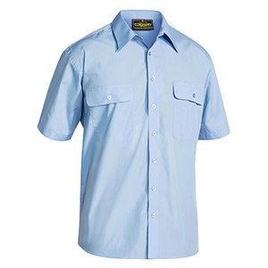 BISLEY  Permanent Press Shirt - Short Sleeve BS1526
