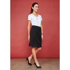 BIZ COLLECTION Ladies Detroit Flexi-Band Skirt BS612S