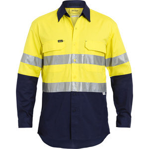 BISLEY  3M Taped Hi Vis X Airflow™ Ripstop Shirt BS6415T