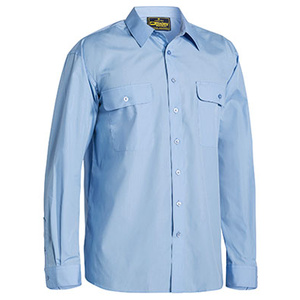 BISLEY  Permanent Press Shirt - Long Sleeve BS6526