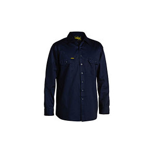 BISLEY  Cool Lightweight Drill Shirt - Long Sleeve BS6893