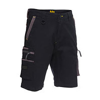 Flex & Move™ Stretch Utility Zip Cargo Short  BSHC1330