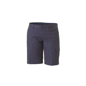 BISLEY  Womens Drill Light Weight Utility Short BSHL1999