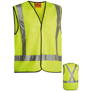 BISLEY  X Taped Hi Vis Vest BT0347