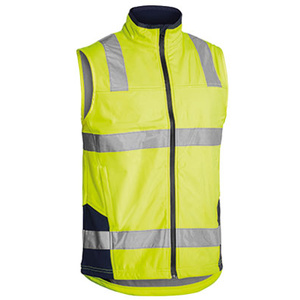 BISLEY  Taped Hi Vis Soft Shell Vest BV0348T