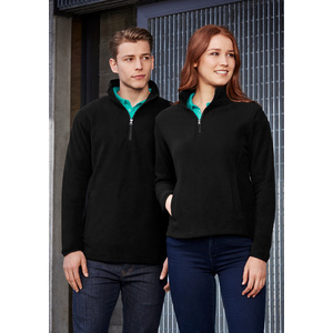 BIZ COLLECTION Mens Trinity 1/2 Zip Pullover F10510