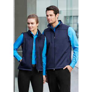 BIZ COLLECTION Mens Soft Shell Vest J3881