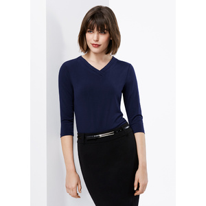 BIZ COLLECTION Ladies Lana 3/4 Sleeve Top K819LT