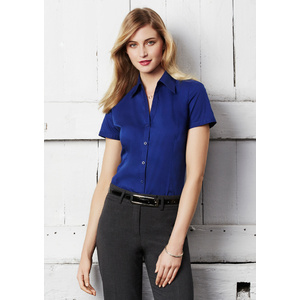 BIZ COLLECTION Ladies Metro Short Sleeve Shirt LB7301