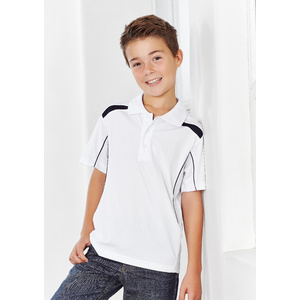 BIZ COLLECTION Kids United Short Sleeve Polo P244KS