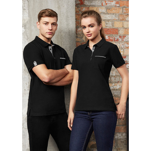 BIZ COLLECTION Mens Edge Polo P305MS