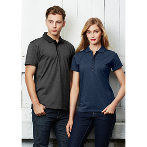 BIZ COLLECTION Ladies Shadow Polo P501LS