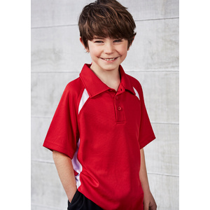 BIZ COLLECTION Kids Splice Polo P7700B