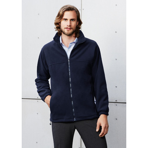 BIZ COLLECTION Mens Plain Micro Fleece Jacket PF630