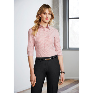 BIZ COLLECTION Ladies Berlin 3/4 Sleeve Shirt S121LT