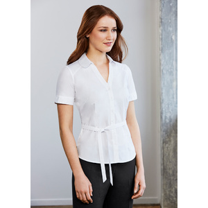 BIZ COLLECTION Ladies Berlin Y-Line Shirt S261LS