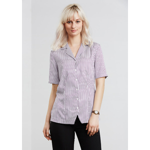 BIZ COLLECTION Ladies Stripe Oasis Overblouse S266LS
