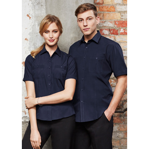 BIZ COLLECTION Mens Bondi Short Sleeve Shirt S306MS