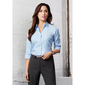BIZ COLLECTION Ladies Preston 3/4 Sleeve Shirt S312LT