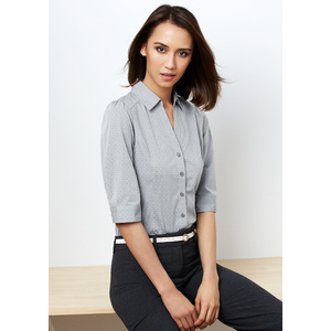BIZ COLLECTION Ladies Trend 3/4 Sleeve Shirt S622LT