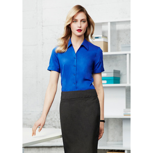 BIZ COLLECTION Ladies Monaco Short Sleeve Shirt S770LS