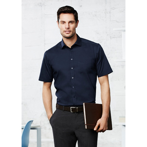 BIZ COLLECTION Mens Monaco Short Sleeve Shirt S770MS
