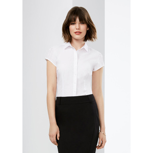 BIZ COLLECTION Ladies Euro Short Sleeve Shirt S812LS
