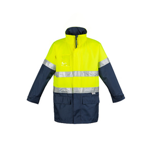SYZMIK Mens Hi Vis Waterproof Lightweight Jacket ZJ355