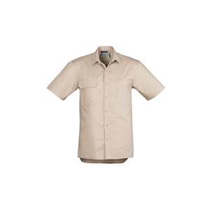 SYZMIK Mens Light Weight Tradie S/S Shirt  ZW120