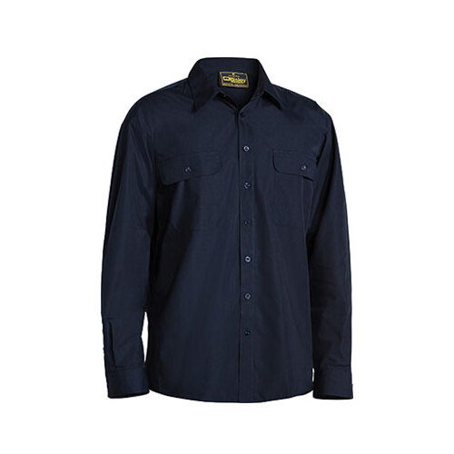 Permanent Press Shirt - Long Sleeve Midnight XS BS6526_BDKN